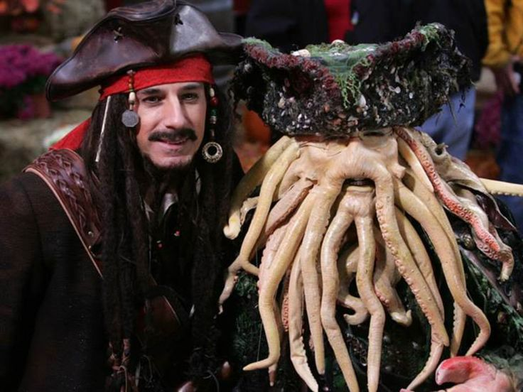 a pirates life for me from today show hosts halloween costumes through the years - Jack Sparrow Halloween Costumes