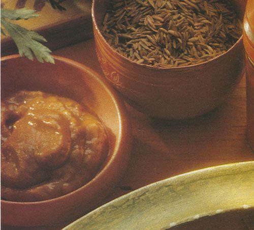 Χαρίσα - καυτή πάστα τσίλι (από την Τυνησία)