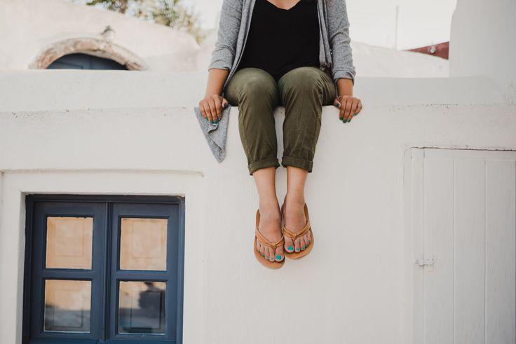 Simple. Beautiful. Leather. Flip flops. #flipflops