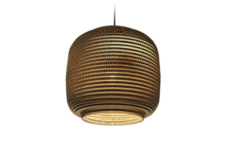 Scraplight Ausi 1-Light LED Drum Pendant