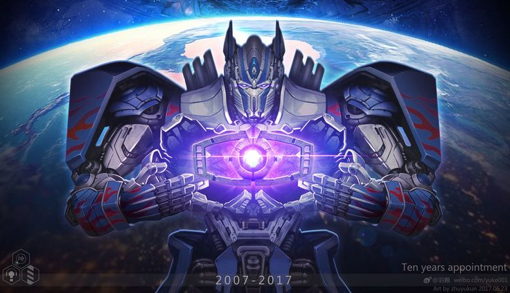 Transformers 5 Optimus Prime by zhuyukun