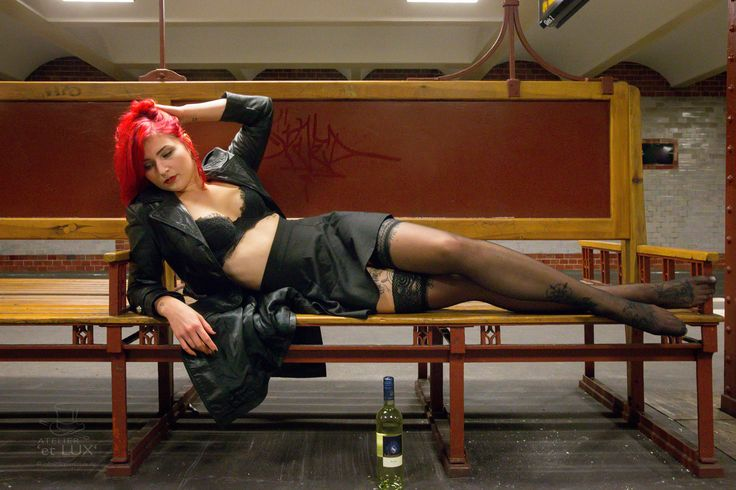Session 'Dequila goes Underground'  Photography: Atelier 'et Lux' Model: Dequila
