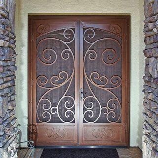 17 best ideas about security door on pinterest safe door for Fancy storm doors