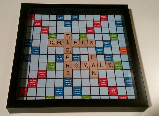 Scrabble Shadow BoxScrabble Box