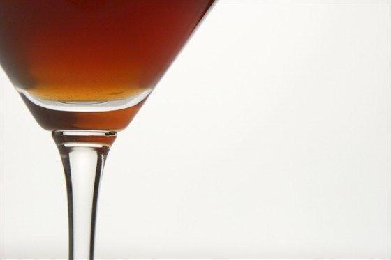 Темный мартини