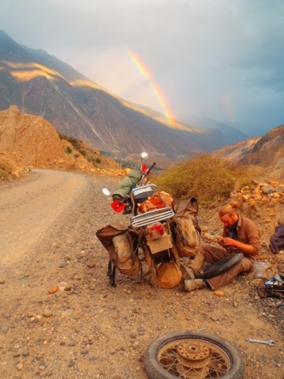 static-panic:  .  This guys rode from Tennessee to Ecuador and back on Honda XL250s.  The argument of 'bigger is better' is invalidated.