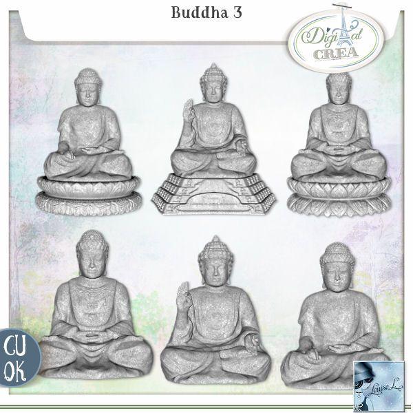 Cu Buddha 3 by Louise L