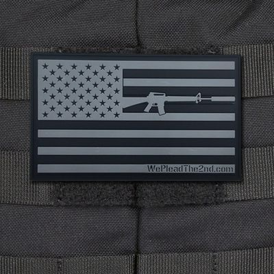 Morale Patch with the We Plead The 2nd Tactical Flag, Now available in PVC                                                                                                                                                                                 More