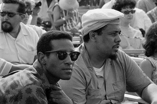 Charles Mingus and Max Roach