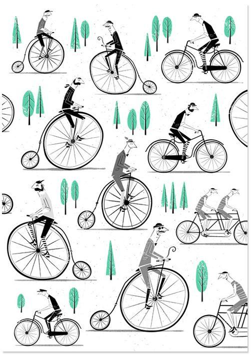 A Pattern of Rambling Gentlemen. on Behance