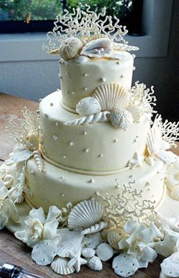 11 best images about beach themed birthday cakes on pinterest crochet woman seashell wedding. Black Bedroom Furniture Sets. Home Design Ideas