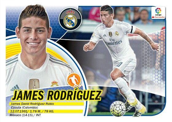 James Rodríguez - Real Madrid - LIGA BBVA - 2016-2017 PANINI
