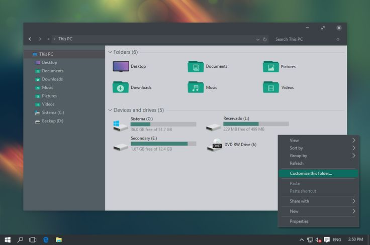 Ades Theme for Windows 10 by unisira