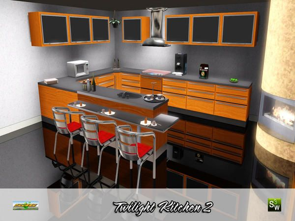 17 best images about sims 3 interior design furniture for Sims 3 kitchen designs