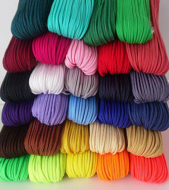 Soutache Cord Braid Set  29 colours MIX 1m by PurpleFoxLOVIK