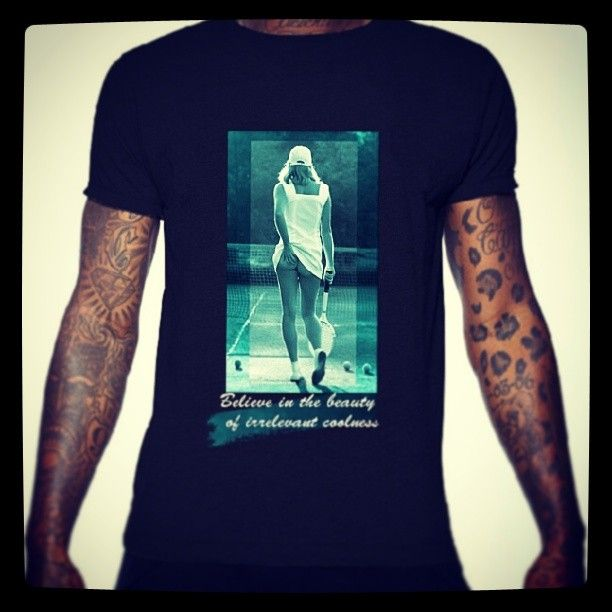 CuldeSac Culture Premium Tees & Apparel  Summer 2014 sneak preview  Design: Tennisgirl $62  www.cdsculture.com