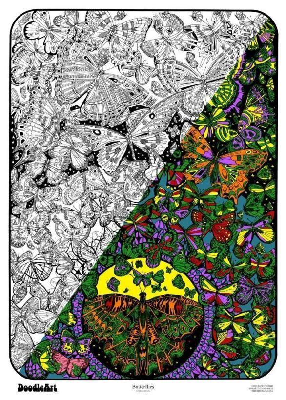 DoodleArt ~ Butterflies