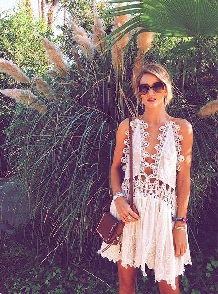 Model style | Boho summer dress | Just a Pretty Style