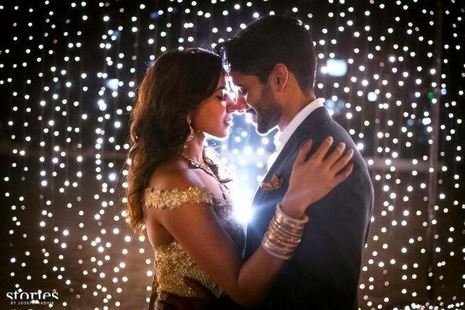 Nagarjuna's Son Naga Chaitanya Got Engaged To His Ladylove Samantha Prabhu - BollywoodShaadis.com