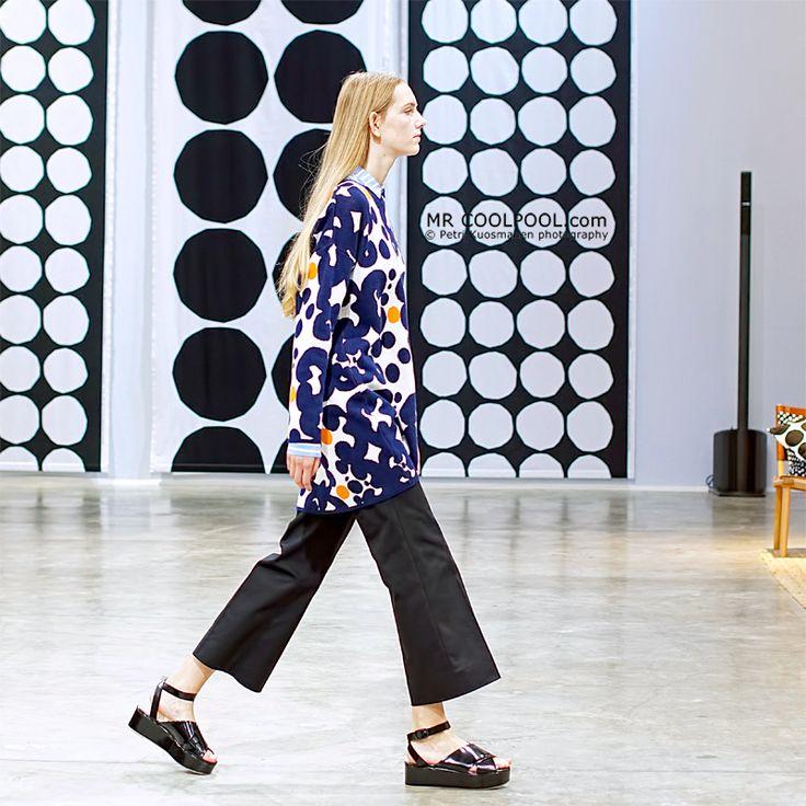 Mr Coolpool: Marimekko Fashion Show - Annika van Dusschoten
