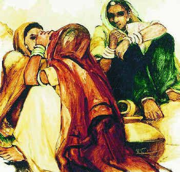 ANNU NAIK PAINTINGS | Movement appears as a recurrent motif in Annu Naik's works, which ...