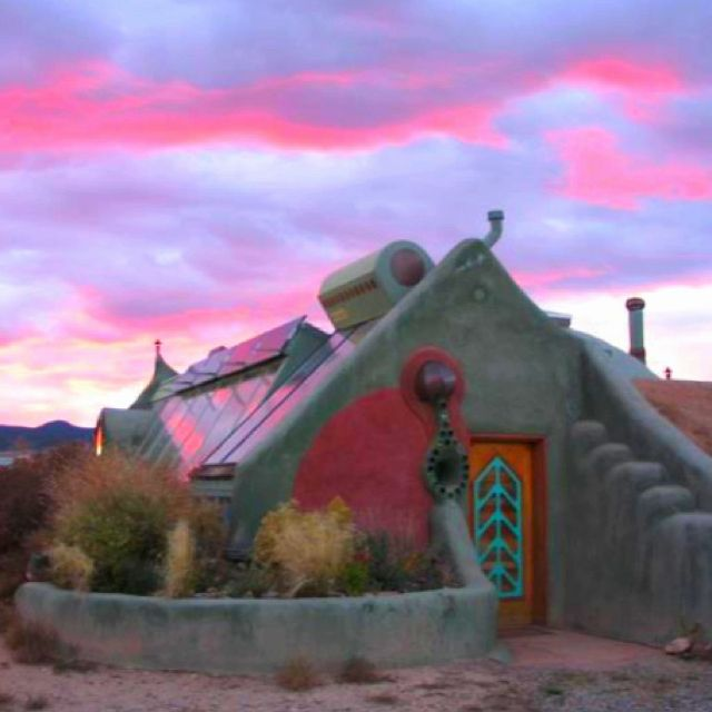 The eventual goal, a sassy little earthship