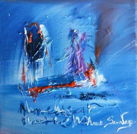 Peinture abstraite à l'huile d'âme sauvage http://www.amesauvage.com/peinture-abstraite-blog/artiste-peintre-contemporain-2.html