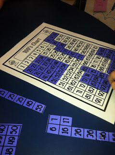 I love hundred chart games and activities!  Here some great ones to use.