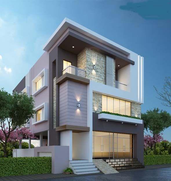 Exterior Small Home Design Ideas: Modern House Bungalow Exterior Ideas