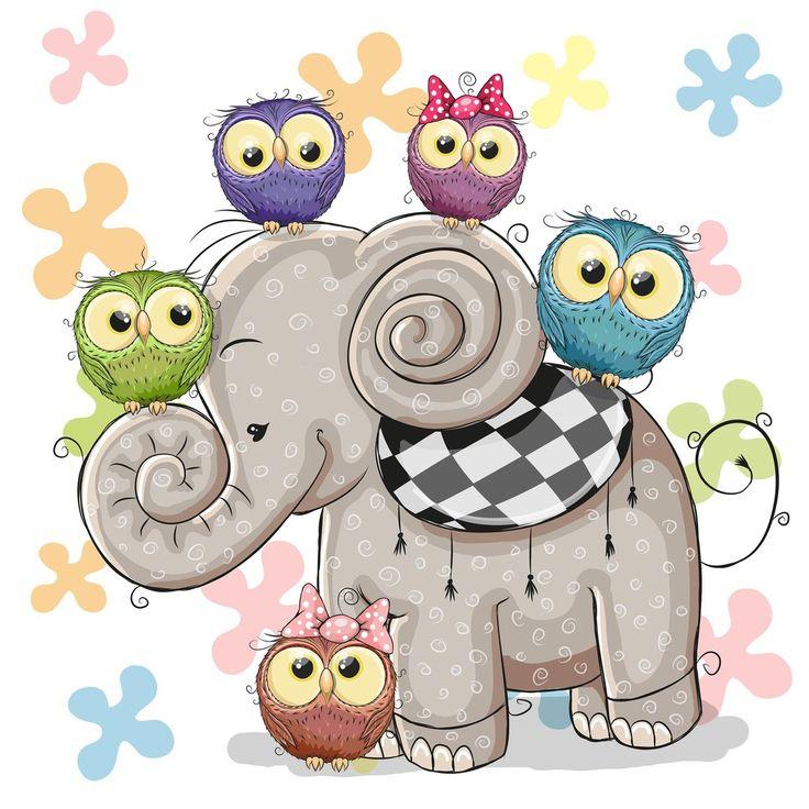 Buhitos y elefante ^^