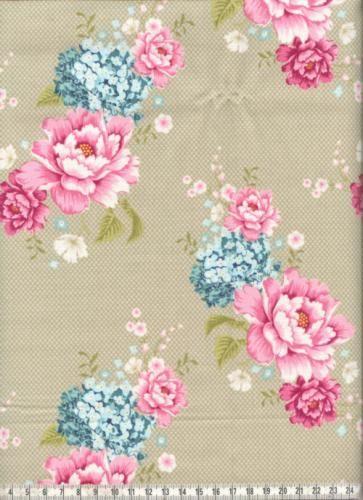 Tilda Flowerpatch khaki