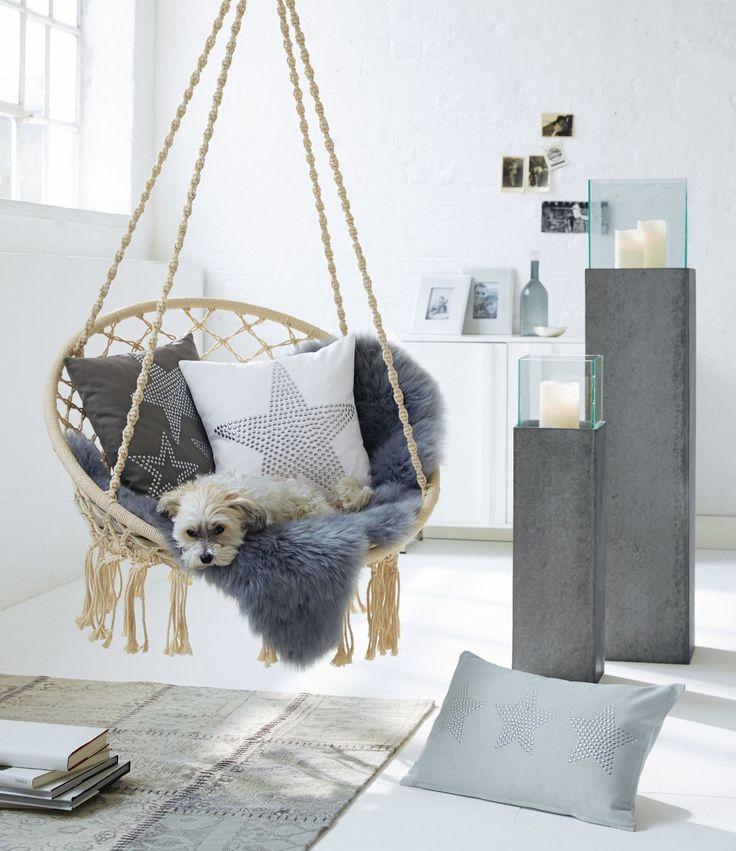 Die 25+ Besten Ideen Zu Hängesessel Auf Pinterest | Veranda Stühle ... Haengematte Aufhaengen Montage Pflege