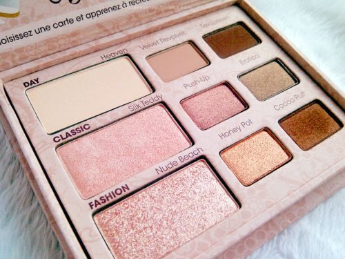 good makeup palettes. my favorite makeup palette: two faced naked eye good palettes