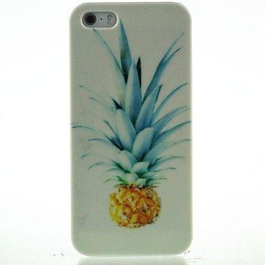 EUR € 1.83 - schattige ananas patroon harde koffer voor iPhone4 / 4s, Gratis Verzending voor alle Gadgets!