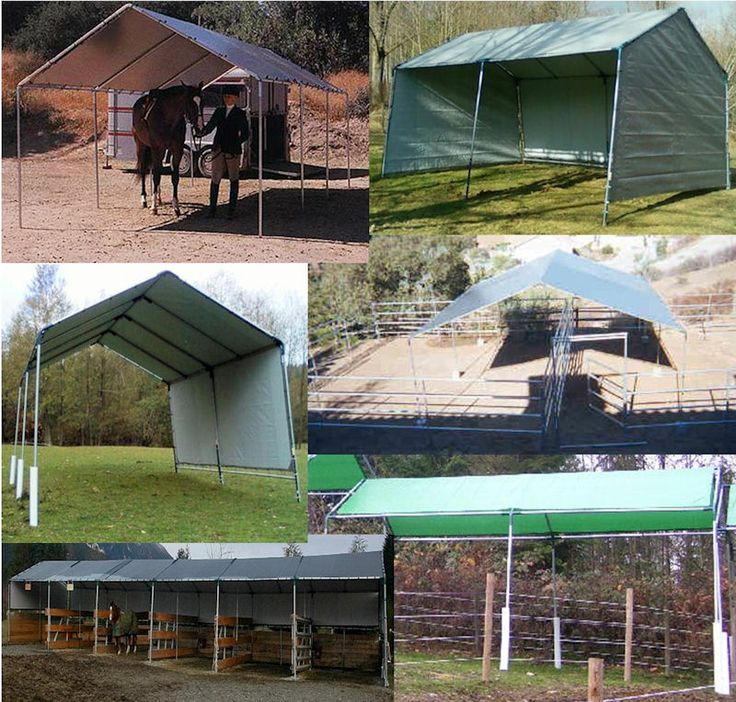 13 best horses shelters and hay storage images on pinterest portable horse run in shed shelter protect your animals make ccuart Image collections