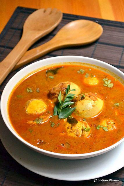 Egg Kurma Recipe ~ Indian Khana
