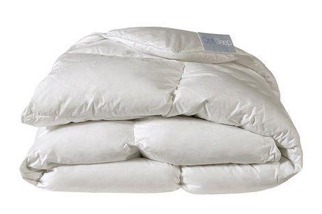 Dekbed gevuld met 90% witte ganzendons en 10 % veertjes. Licht en comfortabel dekbed. optisleep basic line Wasbaar tot 60 graden.