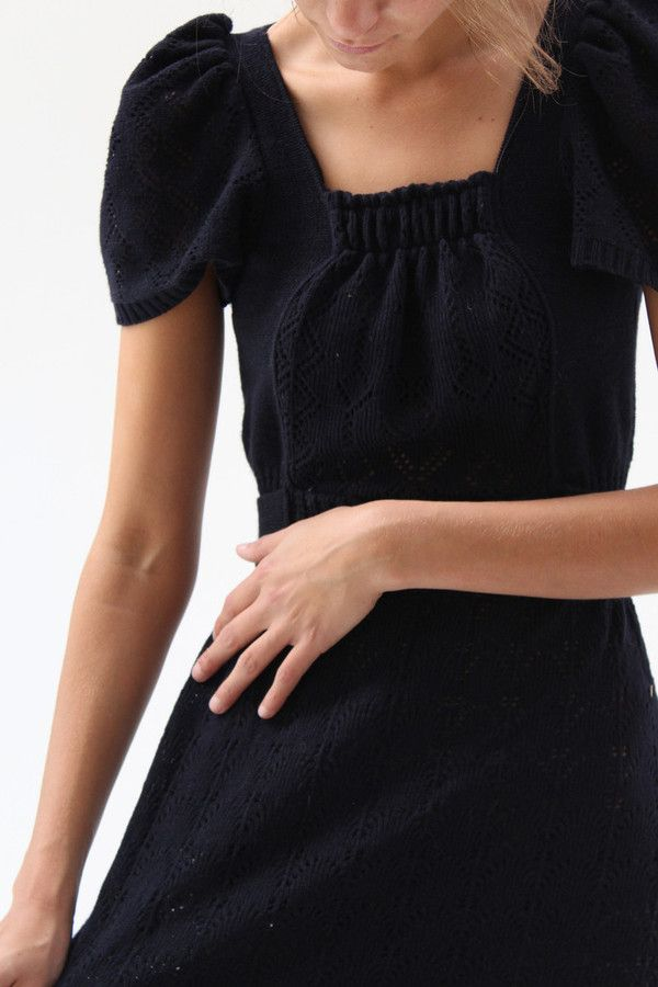 Ivana Helsinki vintage knit dress