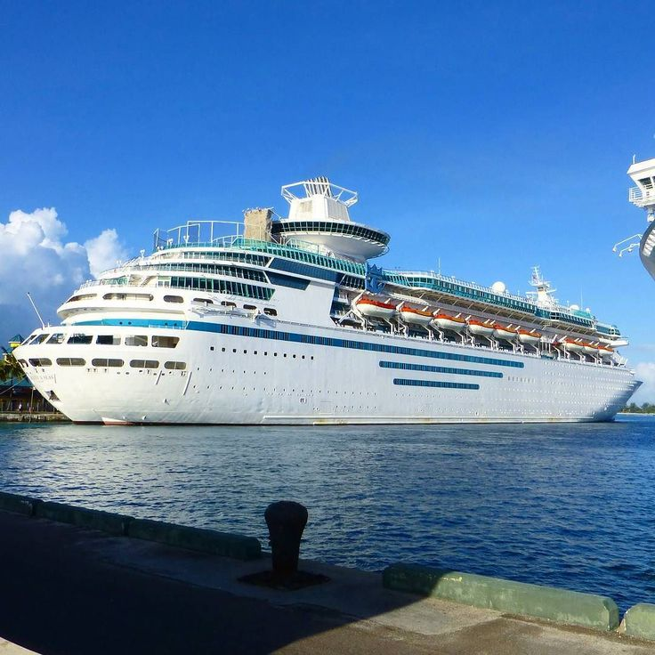 Majesty of the Seas! Have you ever sailed on her before?  #cruisingdave #cruise #cruising #carnivalcruise #cruiseship #bahamas #caribbean #travel #vacation #ship #cruiseships #ocean #sea #clouds #beach #tropical #island #summer #cruisegram #carnivalconquest #florida #ftl #nassau #cruiselife #majestyoftheseas #rccl #royalcaribbean #royalwow #royalcaribbeancruise
