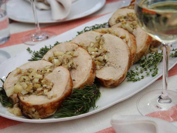 "Turkey Breast ""Porchetta"" recipe from Giada De Laurentiis via Food Network"