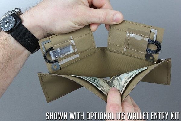 Concealment Wallet: Discreetly Carry Entry and Escape Tools