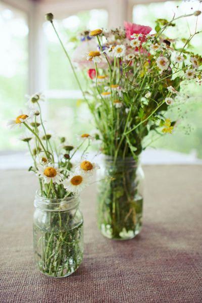 wildflowers: Wildflowers, Spring Flowers, Spring Decor, Flowers Arrangements, Kitchens Tables, Farmers Marketing, Fresh Flowers, Mason Jars, Wild Flowers