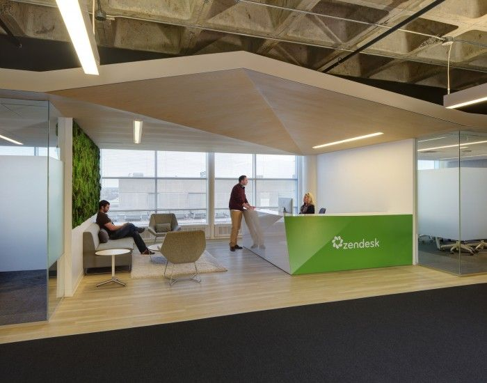 Good Office Design Amusing Office Tour Zendesk  Madison Offices  Office Designs Gray . Design Decoration