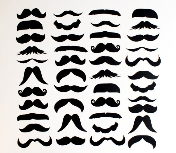 50 DIY Photo Booth Props. Set of 50. Mustache par LittleRetreats