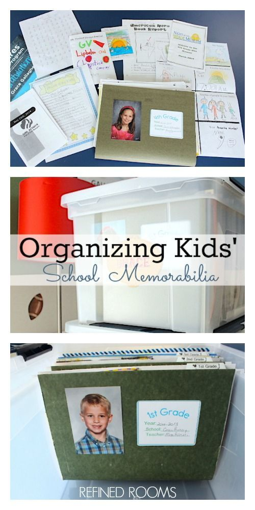 Got school paper clutter? Learn how to set up a simple system for managing kids' school memorabilia AND download your free organizing system label set!