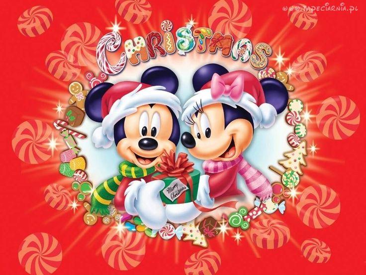 Fantástico Mickey Mouse Navidad Fotos Color Viñeta - Páginas Para ...