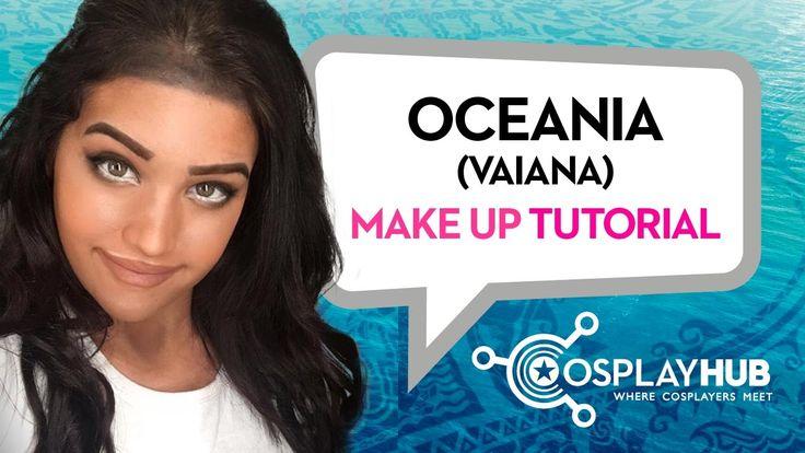 #MakeUpTutorial by #Oceania #Moana #Disney #Vaiana #cosplaymakeup