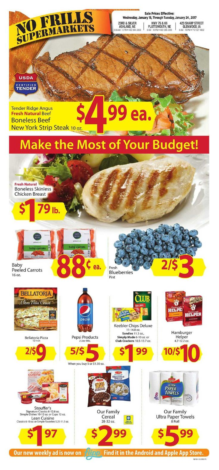No Frills Weekly Ad January 18 - 24, 2017 - http://www.olcatalog.com/grocery/no-frills-weekly-ad.html