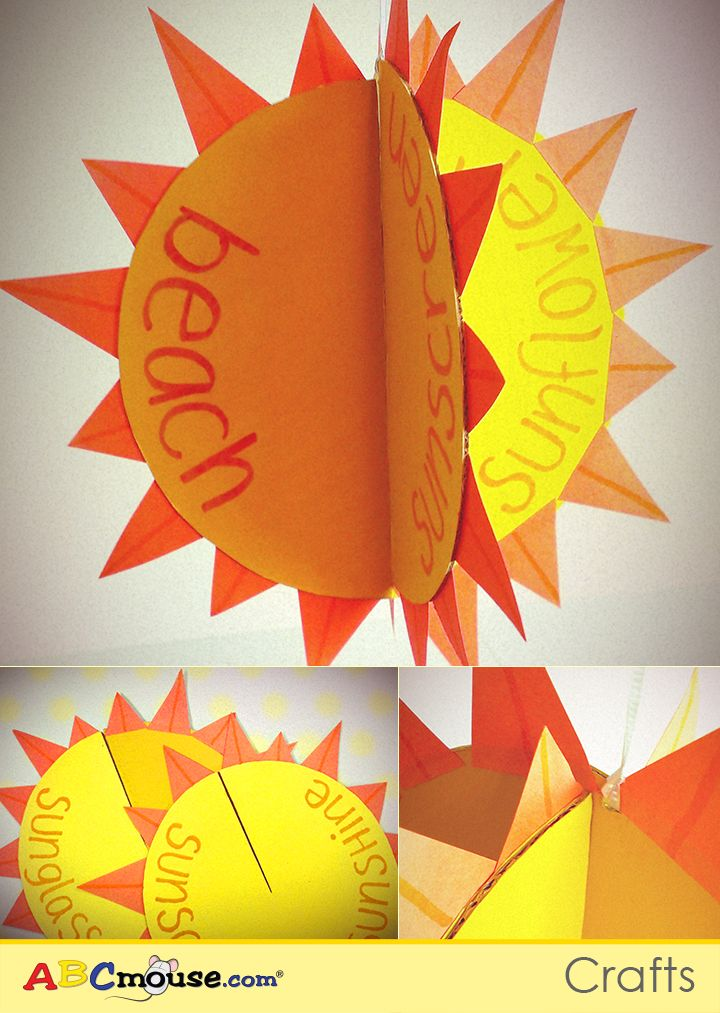 Make This Sun Mobile Craft With Your Kids To Celebrate Summer Put An Educational