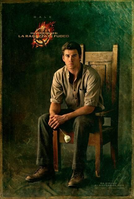 Gale character poster #HungerGames #CatchingFire #LaRagazzaDiFuoco
